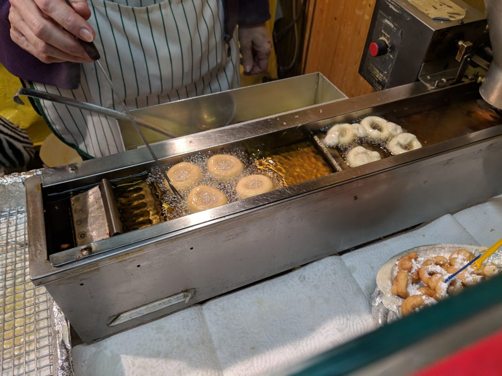 Mini donuts, Christmas Market at Charlottenburg Palace