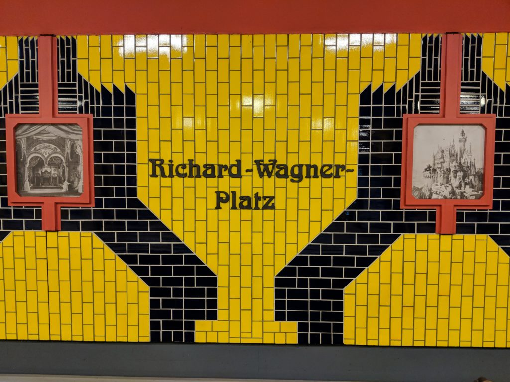 Richard-Wagner Platz metro station, Berlin, Germany