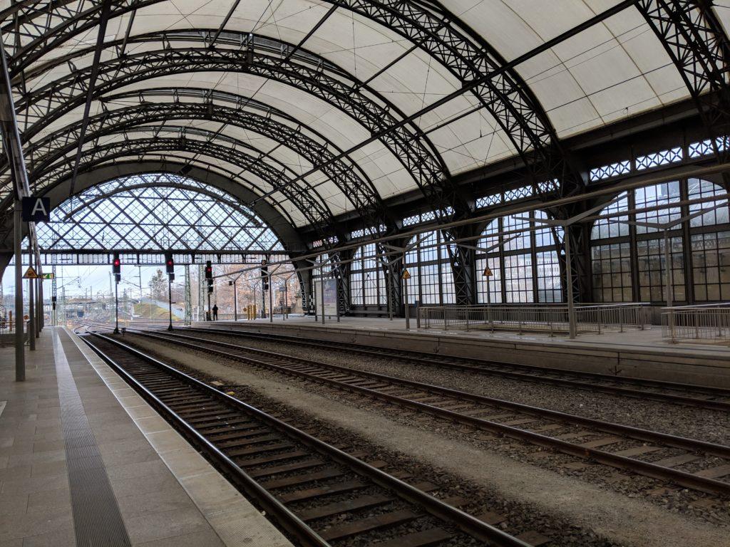 Train station, Dresden, Germany