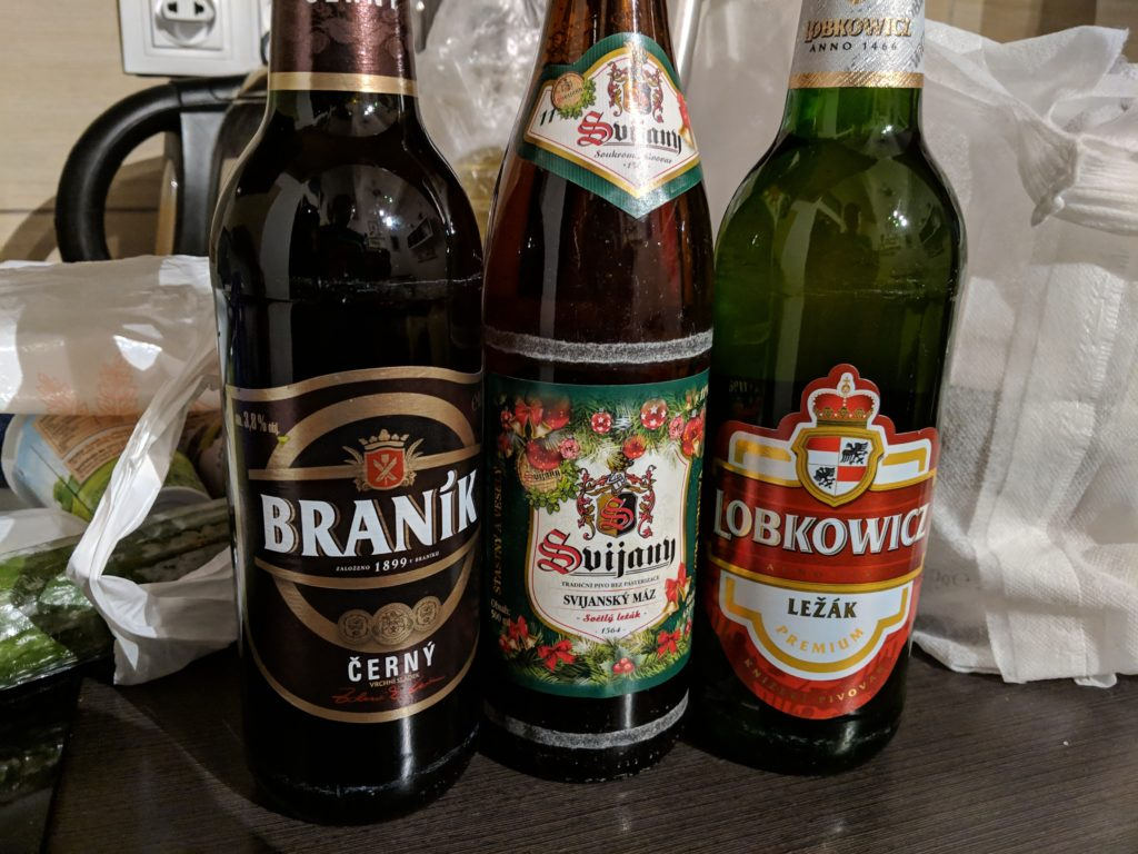 Beer is less than $1 from the supermarket
