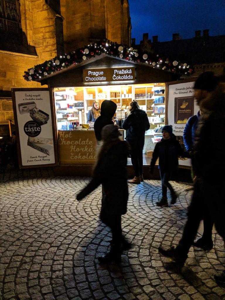 Best Hot Chocolate, Christmas Market, Prague Castle (Pražský hrad), Prague