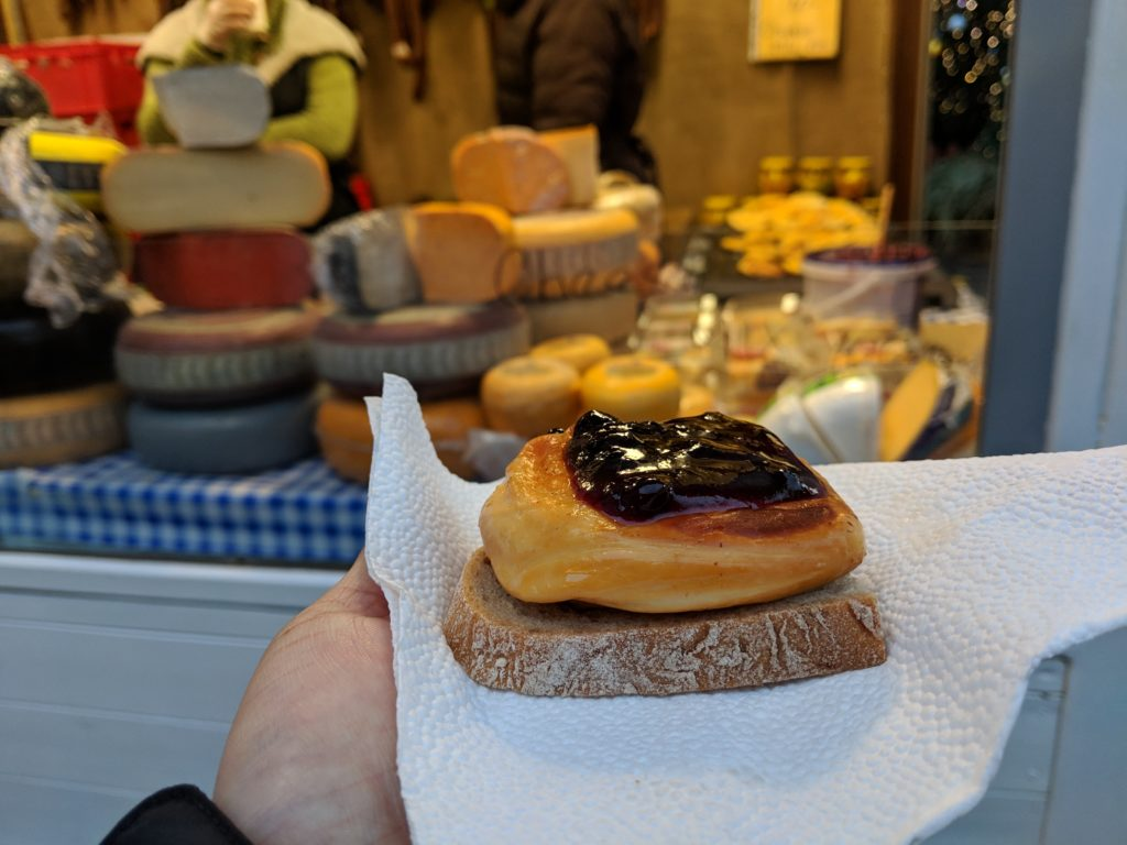 Grilled Cheese, Christmas Market, Old Town, Prague