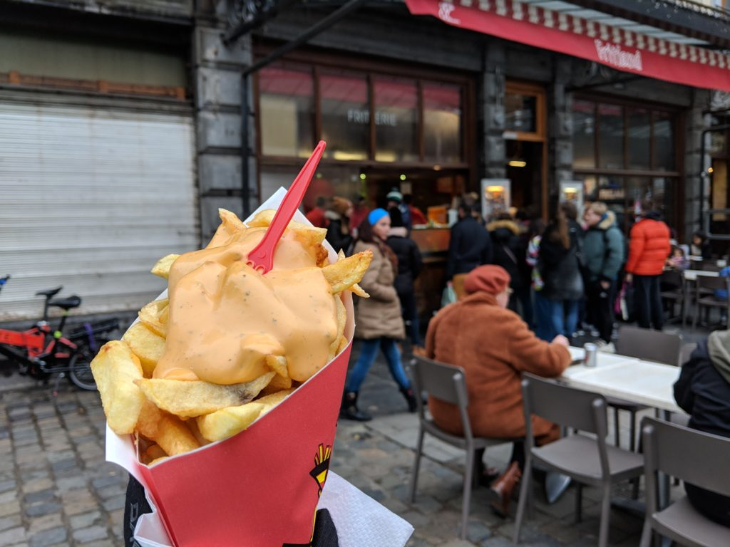 Fritland fries, Brussels