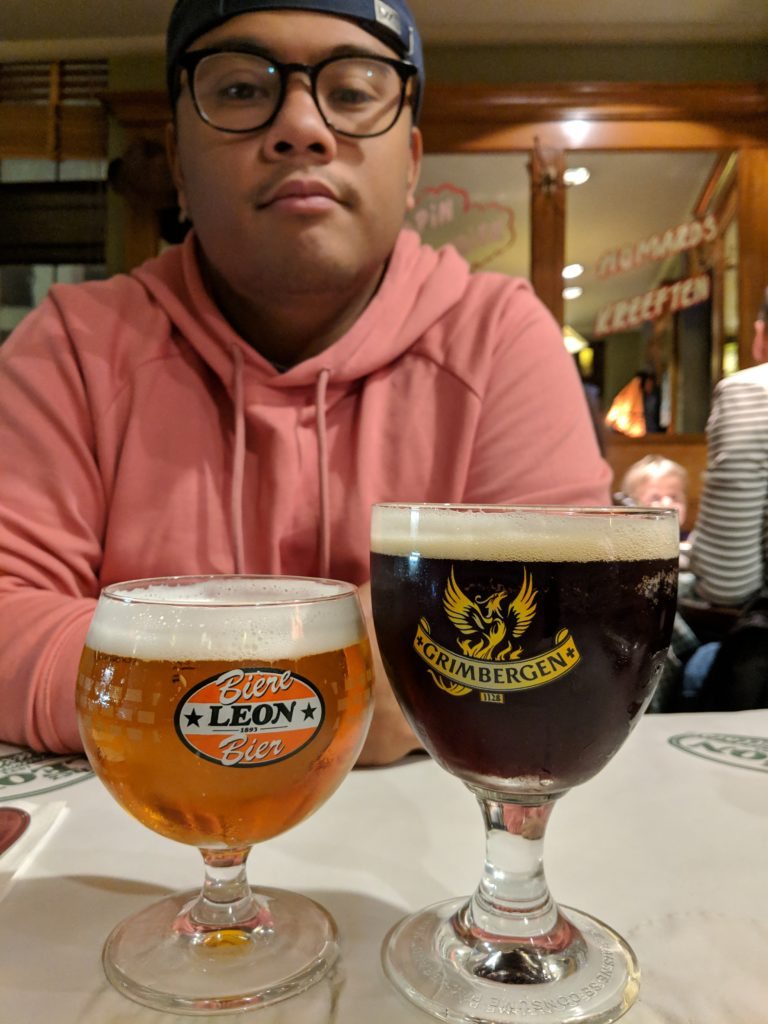 Delicious brews, Chez Leon, Brussels