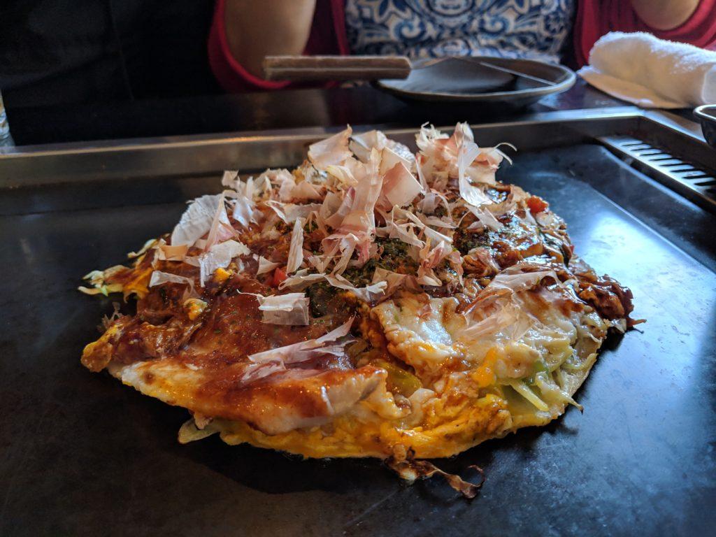 okonomiyaki, Ganto Okonomiyaki, Kyoto