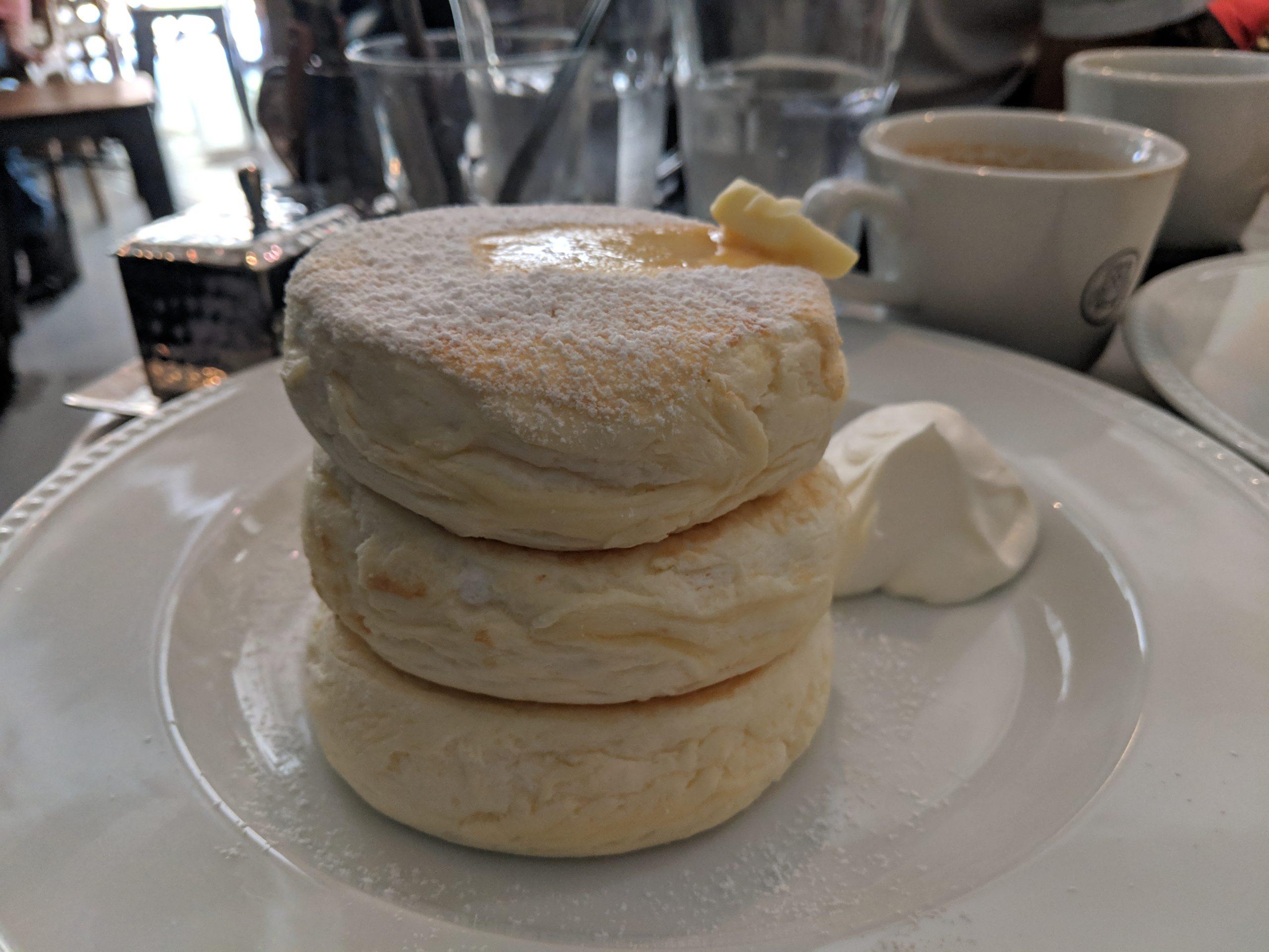 souffle pancakes, Micasadeco&Cafe, Osaka