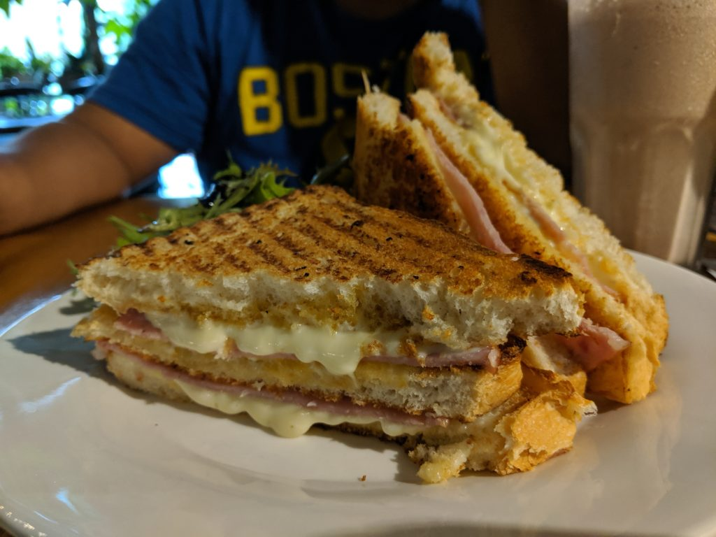 Triple Stack Ham & Cheese, Knots Cafe and Living, Singapore