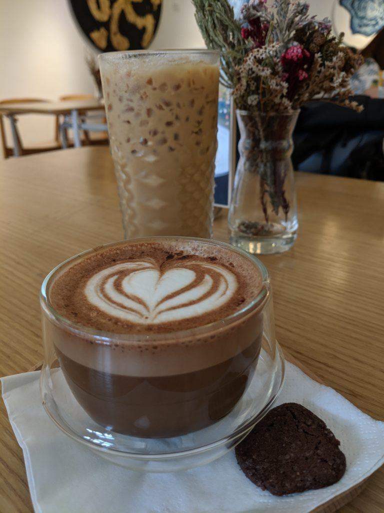 mocha & lavender latte, Grids & Circles, Singapore