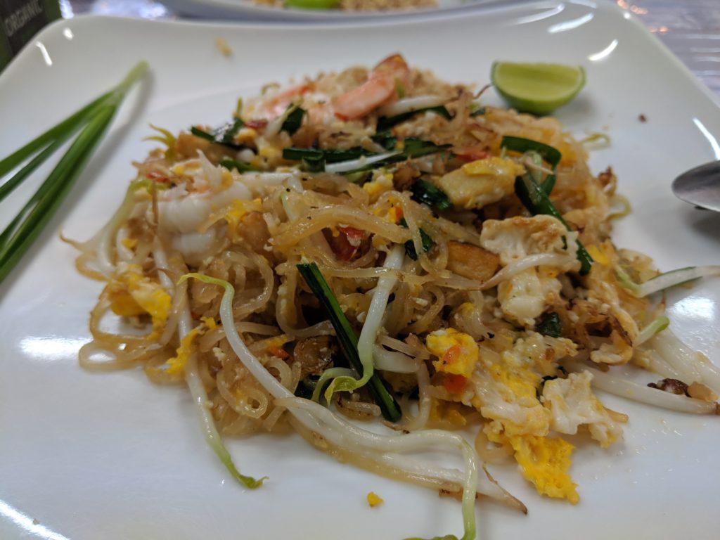 Pad Thai, BTS Foodland. Bangkok, Thailand