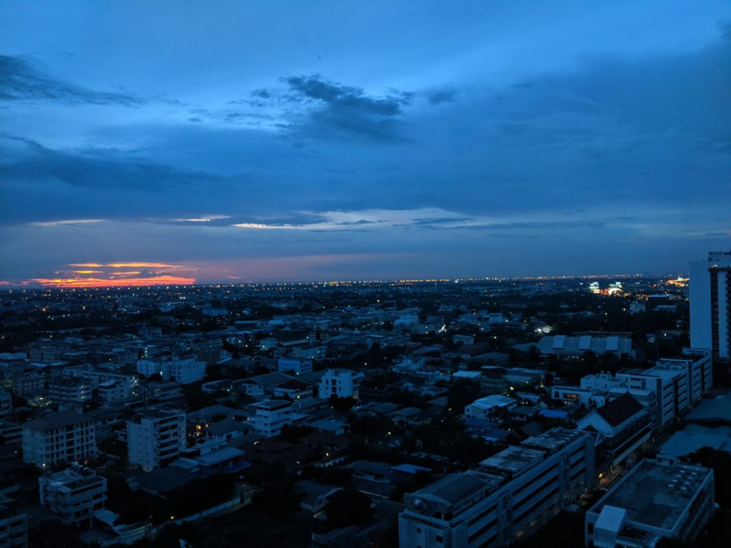 Sunset, Bangkok, Thailand