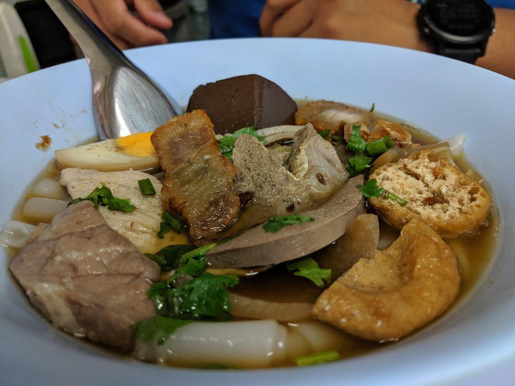 Pork Offals Soup, MBK Food court, Bangkok, Thailand