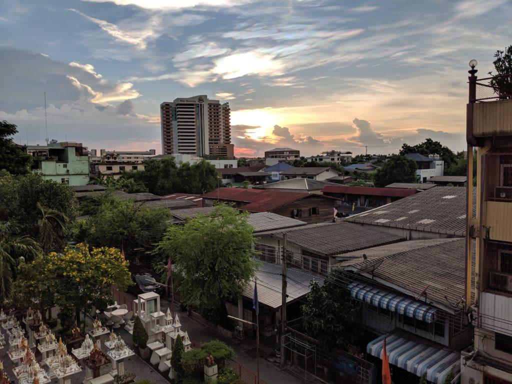 View over Bangkok, Thailand
