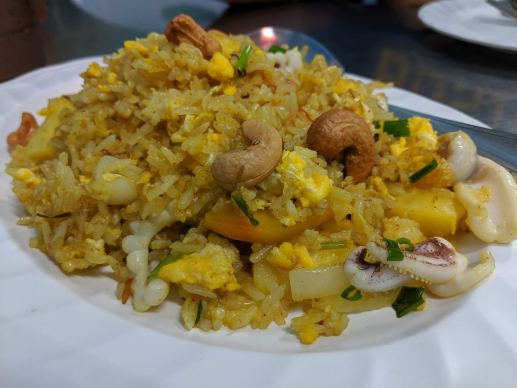 Pineapple Fried Rice, Lek Seafood, Bangkok, Thailand