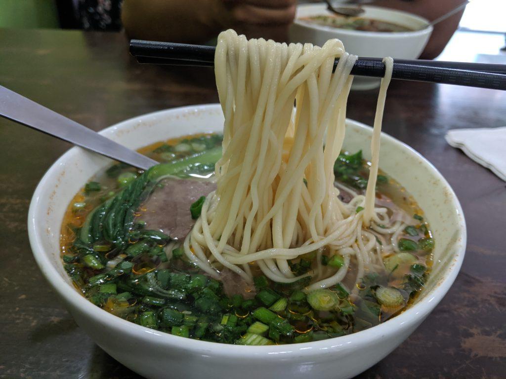 Beef noodles, Restoran Mee Tarik Warisan Asli, Kuala Lumpur, Malaysia