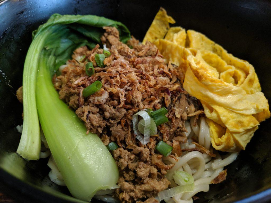 Shanghai noodles, Life Cafe, Kuching, Malaysia