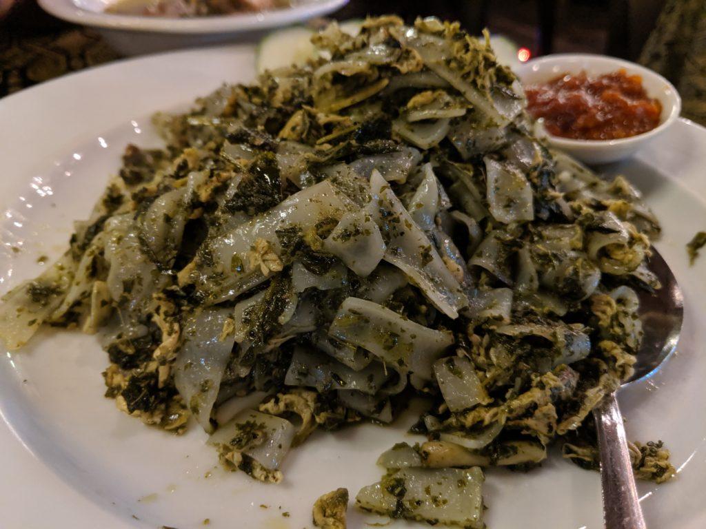 Lepau Special Fried with kuh tiew, Kuching, Malaysia