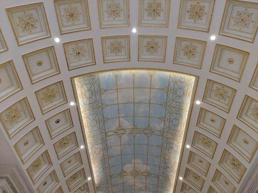 Ceiling detail, Villagio Mall, Doha, Qatar