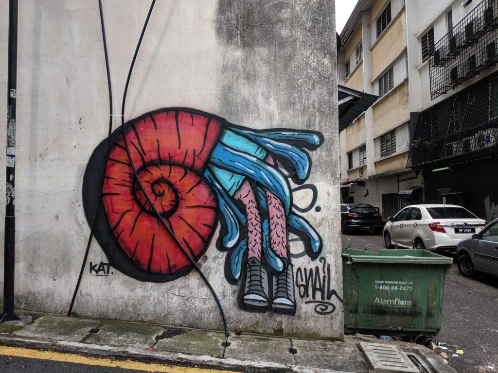 Street near, Jalan Alor, Kuala Lumpur, Malaysia