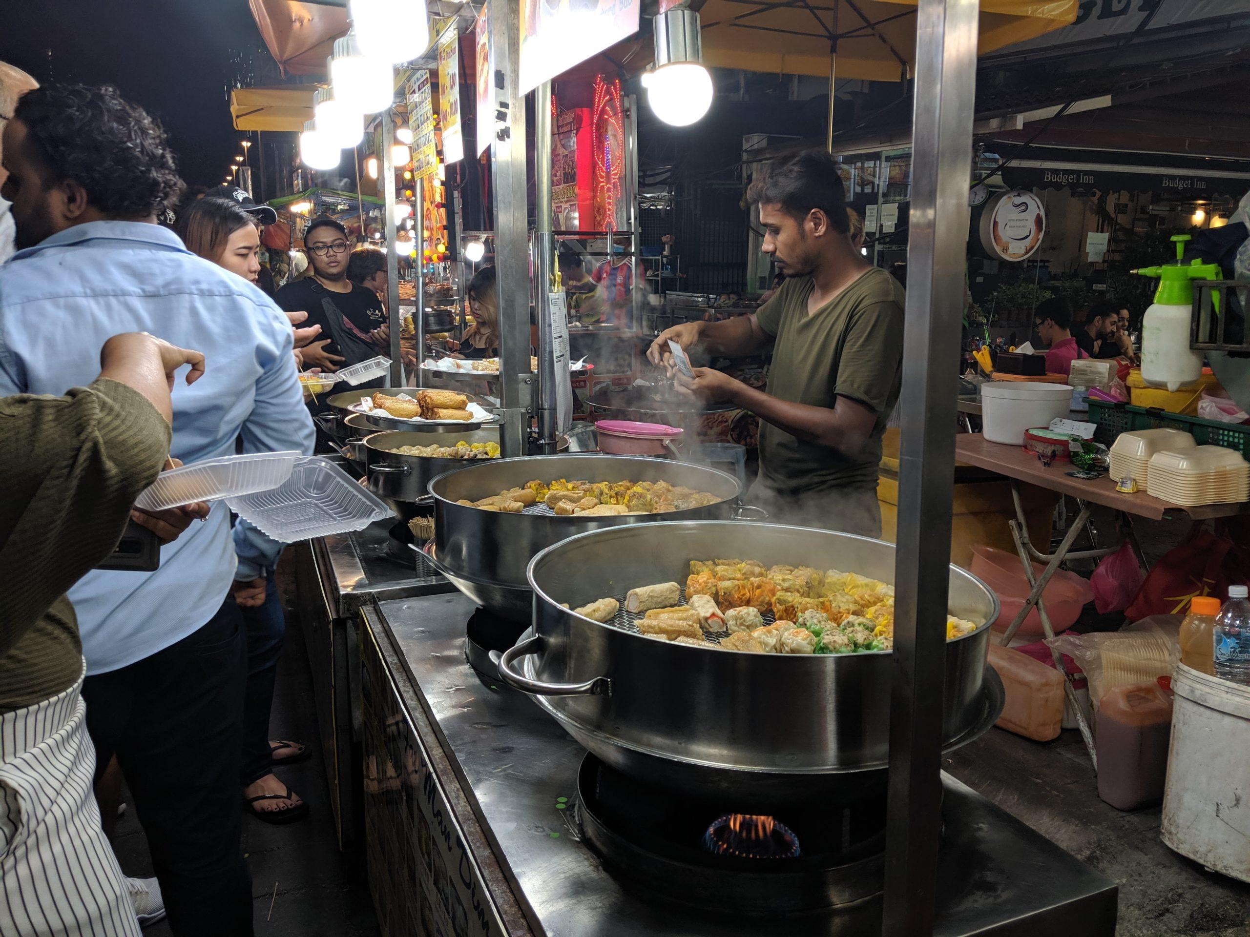 Street food, Jalan Alor, Kuala Lumpur, Malaysia