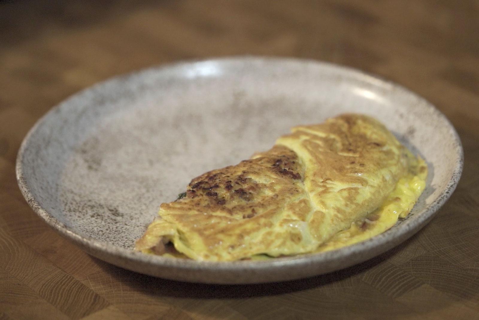 American omelet